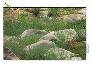 Rocks And Grass At Amidon Conservation Area Missouri Carry-all Pouch