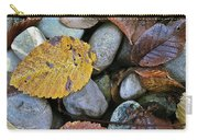 Rocks And Leaves Carry-all Pouch