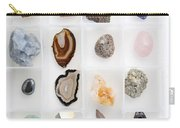Rocks And Minerals Carry-all Pouch