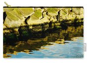 Rocks And Reflections On Ocean Carry-all Pouch