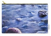 Rocks In Water Carry-all Pouch by Elena Elisseeva