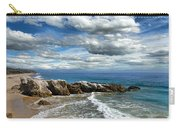 Rocky Coast In Malibu California Carry-all Pouch