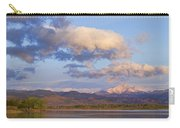 Rocky Mountain Early Morning View Carry-all Pouch