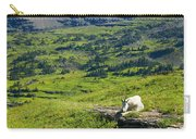 Rocky Mountain Goat Glacier National Park Carry-all Pouch
