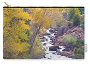 Rocky Mountain Golden Canyon Scenic View Carry-all Pouch