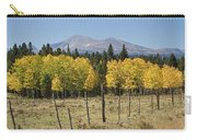 Rocky Mountain High Country Autumn Fall Foliage Scenic View Carry-all Pouch
