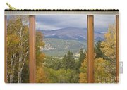 Rocky Mountain Picture Window Scenic View Carry-all Pouch