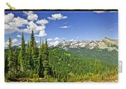Rocky Mountain View From Mount Revelstoke Carry-all Pouch