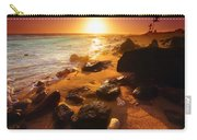 Rocky Shoreline In Hawaii Carry-all Pouch
