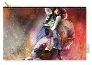 Rodeoscape 01 Carry-all Pouch by Miki De Goodaboom