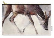 Roe Buck - Winter Carry-all Pouch by Mark Adlington