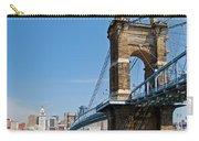Roebling Bridge To Cincinnati Carry-all Pouch
