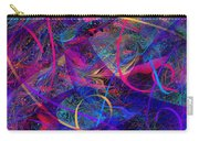 Roller Coaster Carry-all Pouch by Rachel Christine Nowicki