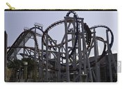 Roller Coaster Rides Inside The Universal Studio Park In Sentosa Carry-all Pouch
