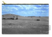Rolling Farmland In Blue Light Carry-all Pouch