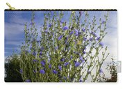 Romaine Lettuce Flowers Carry-all Pouch by Donna Munro