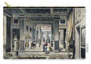Roman House Interior Carry-all Pouch