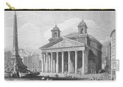 Roman Pantheon, 1833 Carry-all Pouch
