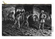 Roman Slavery: Coal Mine Carry-all Pouch by Granger