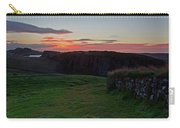 Roman Wall Sunrise Carry-all Pouch