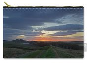 Roman Wall Sunrise II Carry-all Pouch
