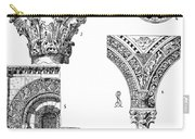 Romanesque Ornament Carry-all Pouch