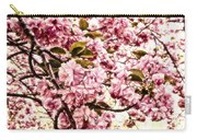 Romantic Cherry Blossoms Carry-all Pouch