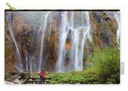 Romantic Scenery By The Waterfall Carry-all Pouch
