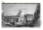 Rome: Appian Way, 1833 Carry-all Pouch by Granger