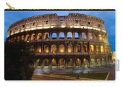 Rome Colosseum Dusk Carry-all Pouch