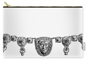 Rome: Gold Necklace Carry-all Pouch