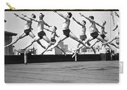 Rooftop Dancers In New York Carry-all Pouch