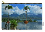 Rooftop Fountain In Paradise Carry-all Pouch