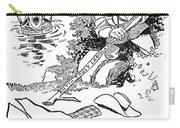 Roosevelt Cartoon, 1902 Carry-all Pouch