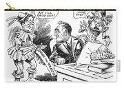 Roosevelt Cartoon, 1934 Carry-all Pouch