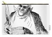 Roosevelt Cartoon, 1938 Carry-all Pouch