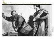 Roosevelt Cartoon, C1916 Carry-all Pouch