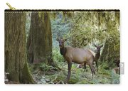 Roosevelt Elk Cervus Elaphus Carry-all Pouch