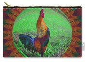 Rooster Colors Carry-all Pouch