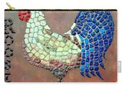 Rooster Lane Carry-all Pouch by Cynthia Amaral