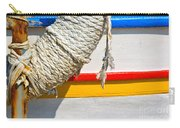 Rope And Boat Detail Carry-all Pouch