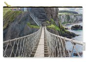 Rope Bridge At Carrick-a-rede In Northern Island Carry-all Pouch
