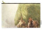 Roping The Wagon Carry-all Pouch