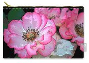 Rose 129 Carry-all Pouch by Pamela Cooper