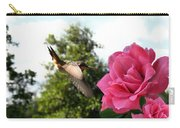 Rose And Rufous Carry-all Pouch