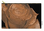 Rose Art  Sepia Carry-all Pouch