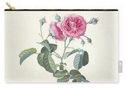 Rose Dutch Hundred Leaved Rose Carry-all Pouch