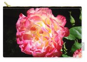 Rose Floral Fine Art Prints Pink Roses Flower Carry-all Pouch