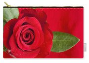 Rose Flower Wet 1 B Carry-all Pouch