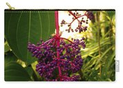 Rose Grape Carry-all Pouch